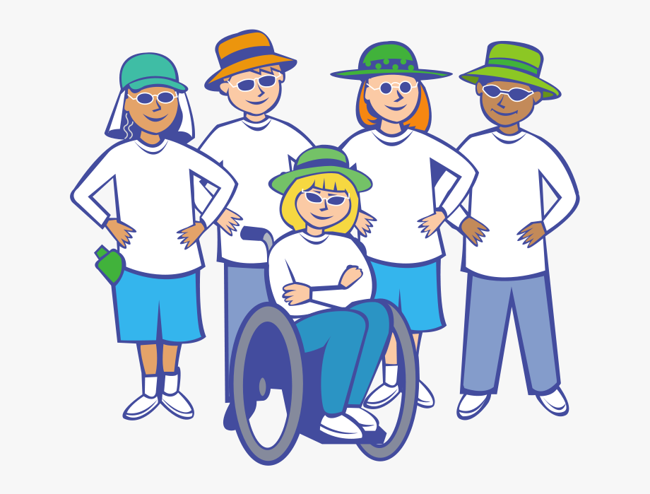 Person with disability clipart png black and white library Free People Clip Art Pictures - People With Disabilities Clipart ... png black and white library