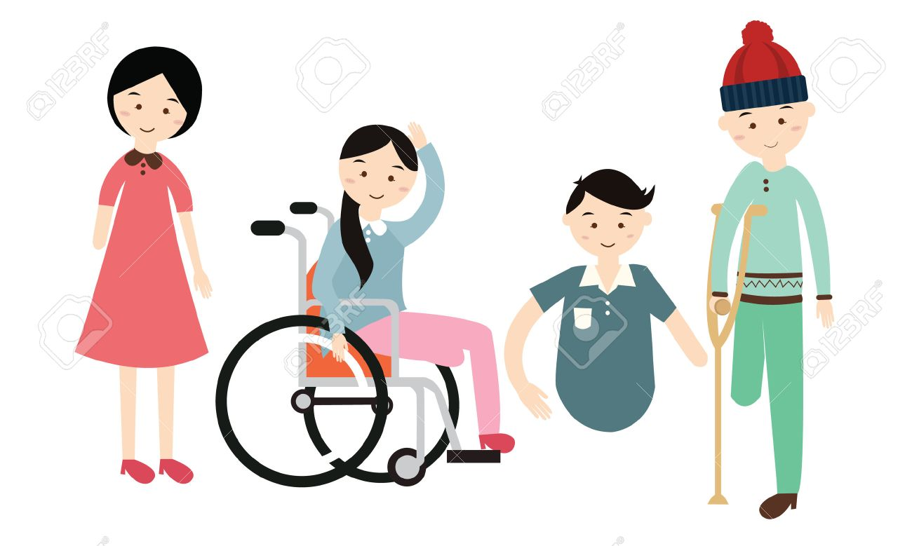 Disabilities clipart clipart black and white download Persons with disabilities clipart 6 » Clipart Station clipart black and white download