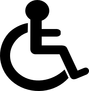 Disability symbols clipart svg freeuse Disability Sign Clip Art at Clker.com - vector clip art online ... svg freeuse