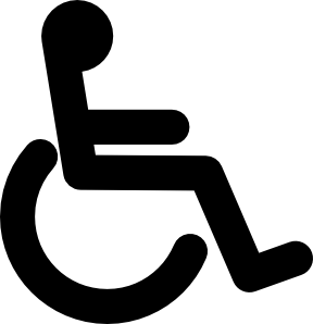 Disability symbols clipart picture library download Disabled Wheel Chair Access Sign Clip Art at Clker.com - vector clip ... picture library download