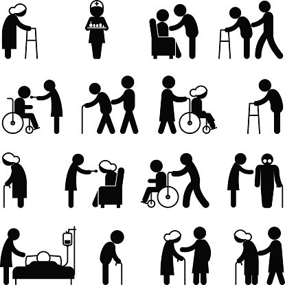 Disabled people walking clipart banner transparent download Disability People Nursing and Disabled Health Care Icons premium ... banner transparent download