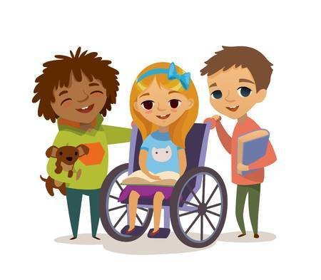 Disablility clipart picture royalty free stock Children with disability clipart » Clipart Portal picture royalty free stock