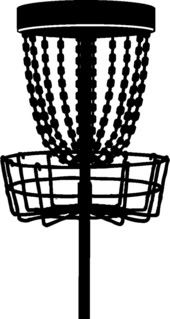 Disc golf basket black and white clipart image free Pin by Ted Warnick on Disc Golf | Disc golf, Golf clip art, Disc ... image free