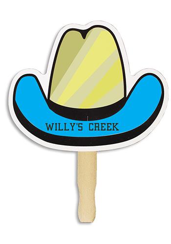 Discountmug clipart vector library library Cowboy Hat Shape Hand Fans | AK8033017 vector library library