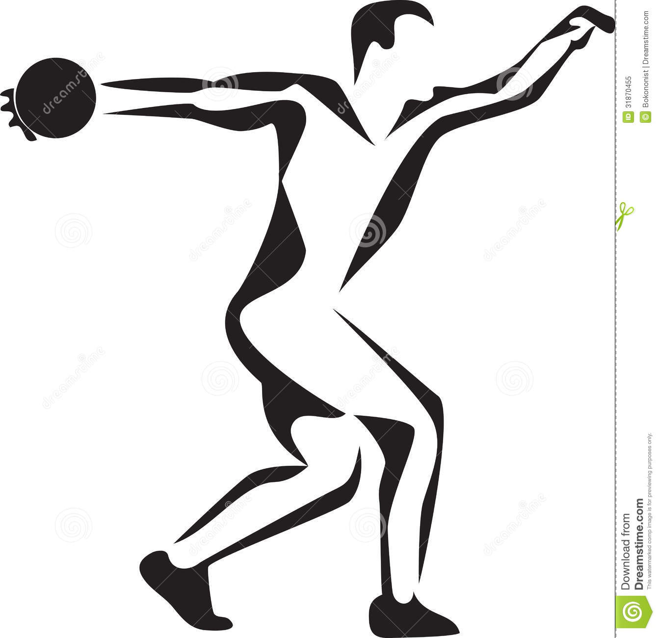 Discus thrower clipart png freeuse download Discus thrower clipart » Clipart Station png freeuse download