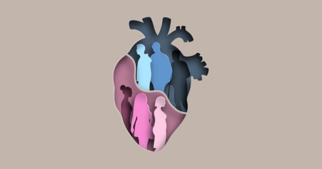 Disease death clipart clip art freeuse library Heart Attack Symptoms: Women vs. Men - Johnston Health clip art freeuse library