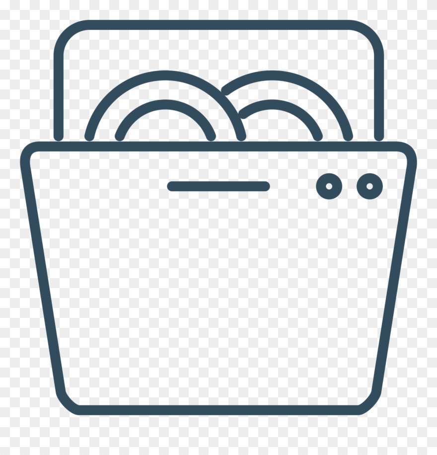 Dish washer clipart vector transparent stock Dishwasher - Png Round Icons For Dishwasher Clipart (#965291 ... vector transparent stock