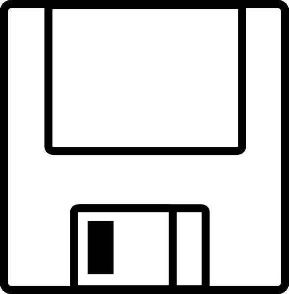 Diskette clipart svg free Floppydisk Clip Art at Clker.com - vector clip art online ... svg free