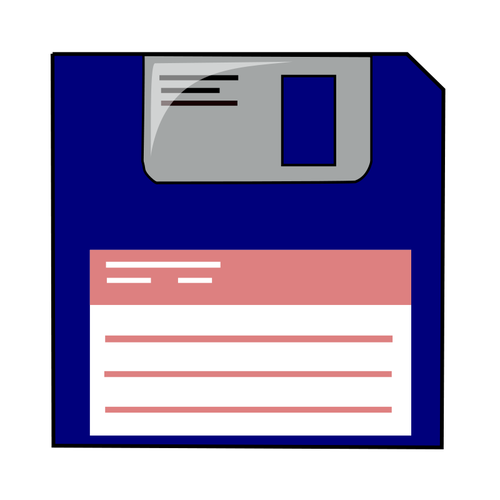 Diskette clipart image free stock Labelled blue floppy disk vector clip art | Public domain ... image free stock
