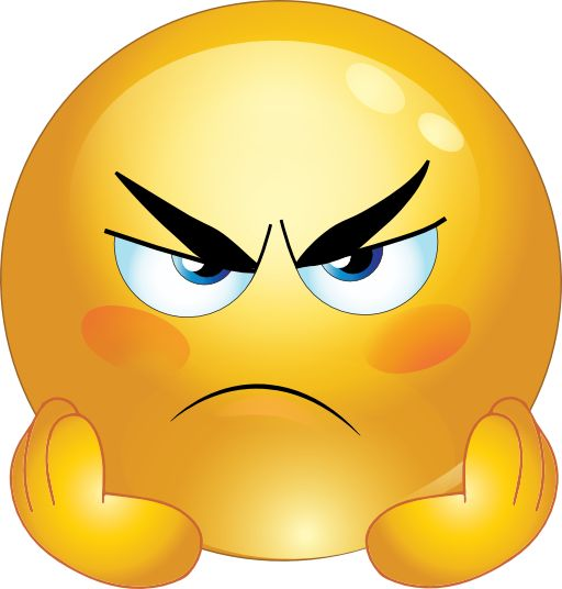 Dislike face clipart free Angry Smiley Face Emoticons Clipart … | Pinteres… free
