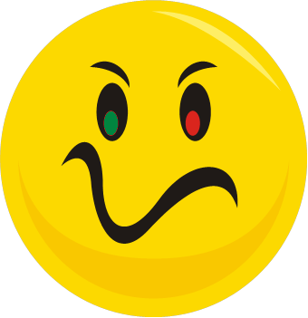 Dislike face clipart. Sad happy free download