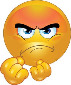 Dislike face clipart. Angry smiley emoticons pinteres