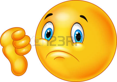 Dislike face clipart.  cliparts stock vector