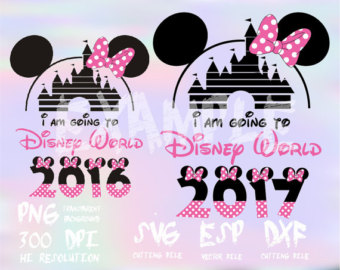 Disney 2016 clipart download Disney family vacation 2016-2017 Mickey clipartSVGPNG download