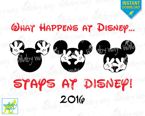 Disney 2016 clipart png black and white Disney world clipart 2016 - ClipartFest png black and white
