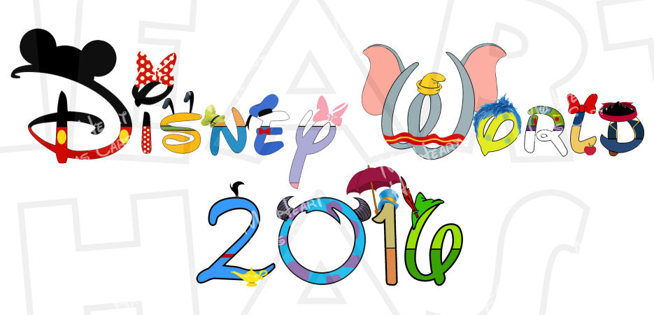 Disney 2016 clipart black and white library Disney world 2016 clipart - ClipartFest black and white library