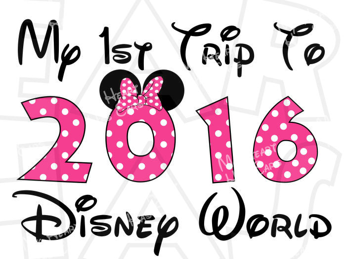 Disney 2016 clipart clip art royalty free Disney World 2016 in character text INSTANT DOWNLOAD digital clip ... clip art royalty free