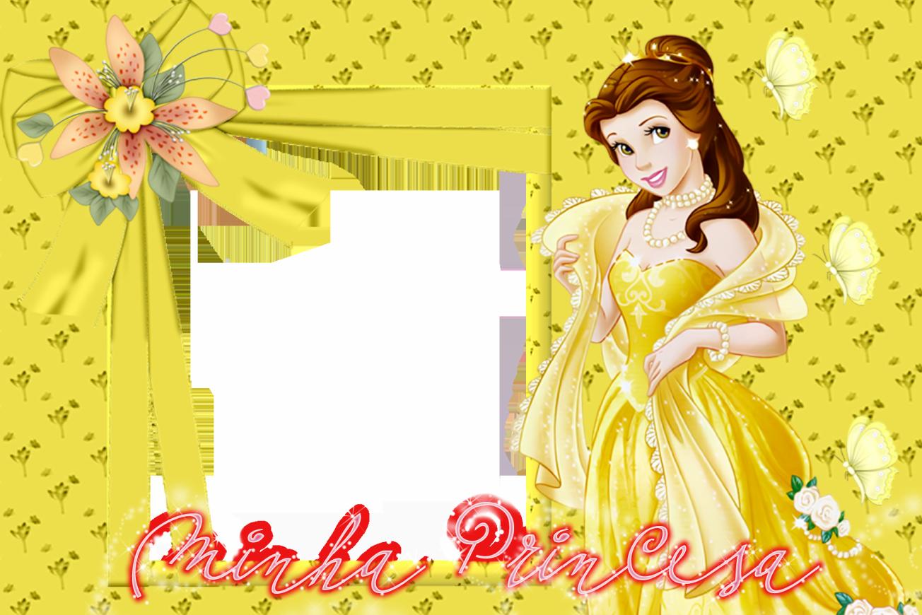 Princess all together and. Disney belle background frame clipart