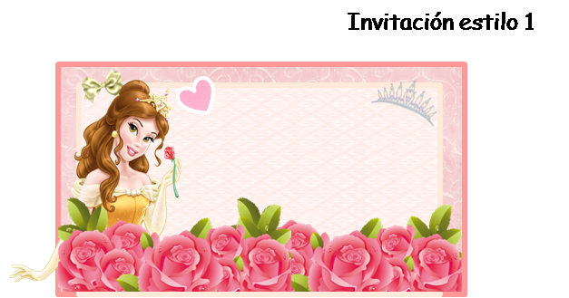 Disney belle background frame clipart image transparent library Belle Free Printable Invitations, Cards or Photo Frames. | Is it ... image transparent library