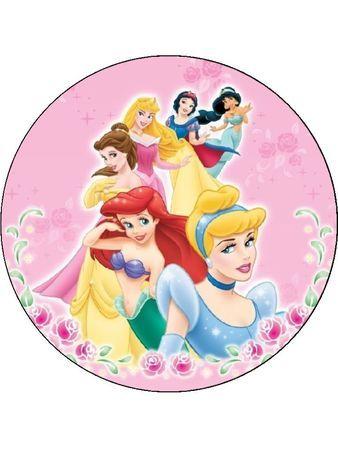 Princess picture circle frames. Disney belle background frame clipart