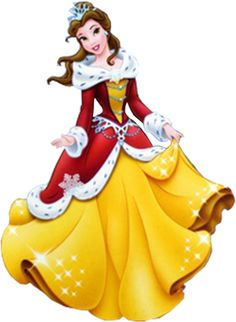 Disney belle christmas clipart graphic royalty free download Disney belle christmas clipart - ClipartFest graphic royalty free download