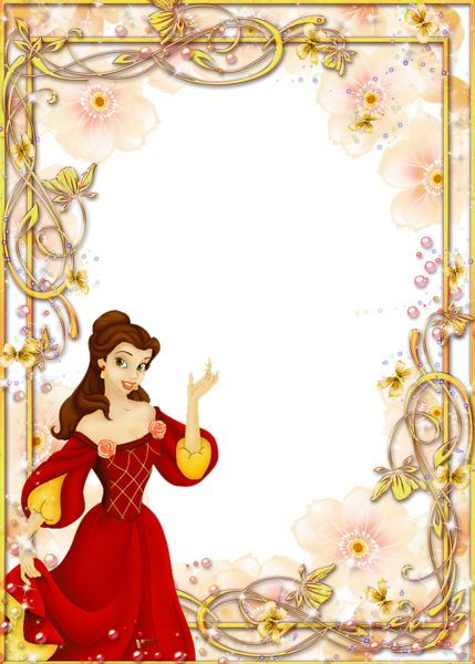 Disney belle frame clipart png black and white library Disney belle frame clipart - ClipartFest png black and white library