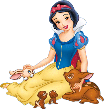 Disney belle sitting clipart. Snow white clipartfox and