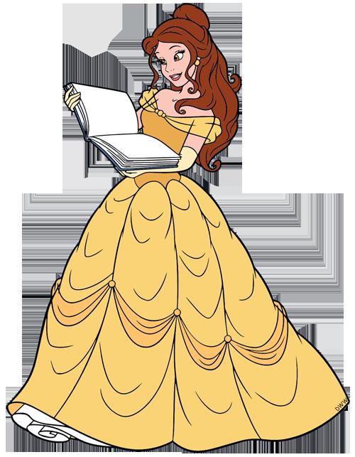 Disney belle sitting clipart. Clip art images galore