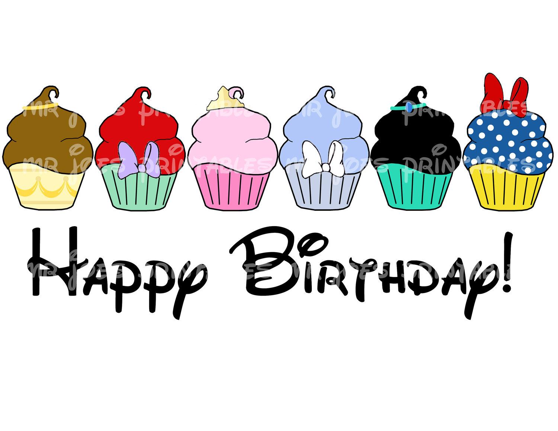 Disney birthday cake clipart clip art free Happy Birthday Princess Clipart - Clipart Kid clip art free