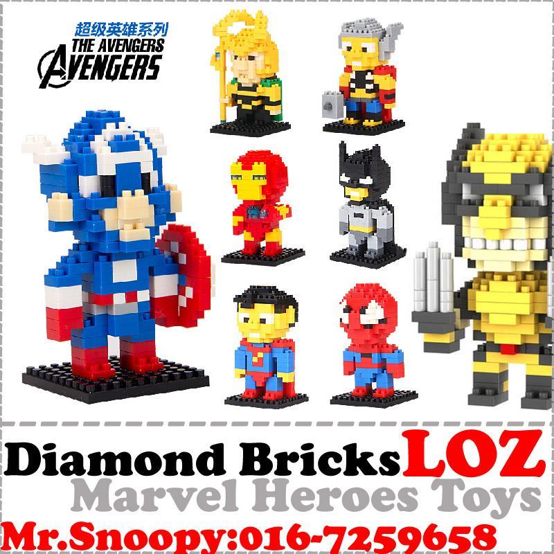 Disney building blocks clipart jpg download LOZ Diamond Bricks,Toy,Marvel Heroes, (end 2/7/2018 2:15 PM) jpg download