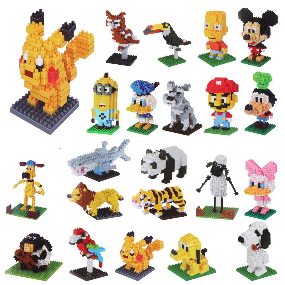 Disney building blocks clipart banner transparent DIY Anime Figures Building Blocks Bricks Toys Nano Micro Puzzle ... banner transparent