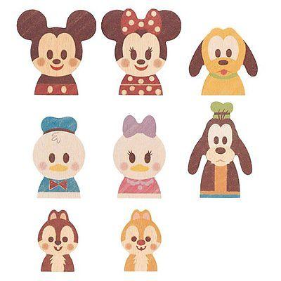 Disney building blocks clipart vector Disney KIEDA Wooden Toy Building Block Character Doll Mickey ... vector