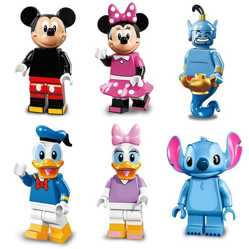 Disney building blocks clipart clip art library download 6pcs Set Dargo Disney Series Minifig (end 1/31/2018 8:15 PM) clip art library download