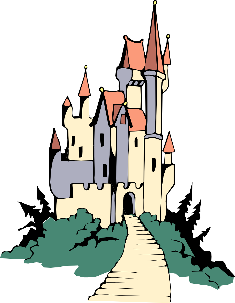 Disney building clipart graphic royalty free Building Clipart Disney Castle Clipart Gallery ~ Free Clipart Images graphic royalty free