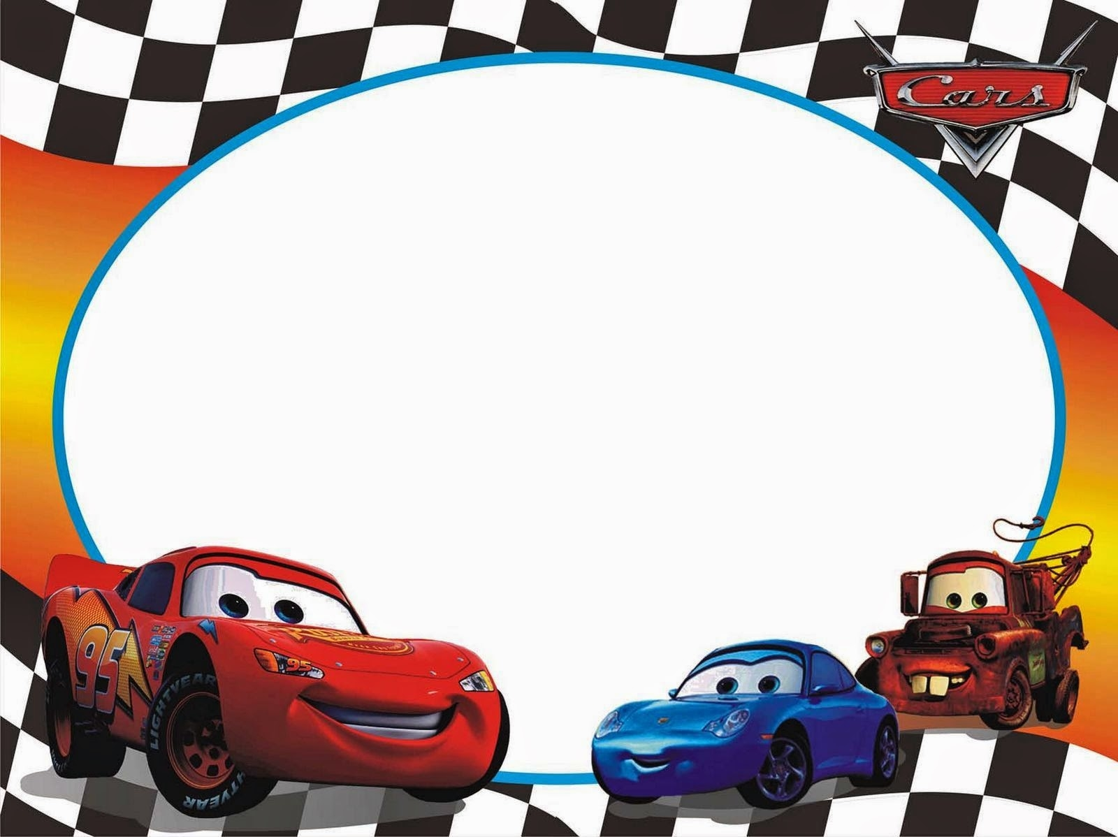 Disney cars 1st birthday clipart clip art royalty free Birthday car clipart - ClipartFest clip art royalty free