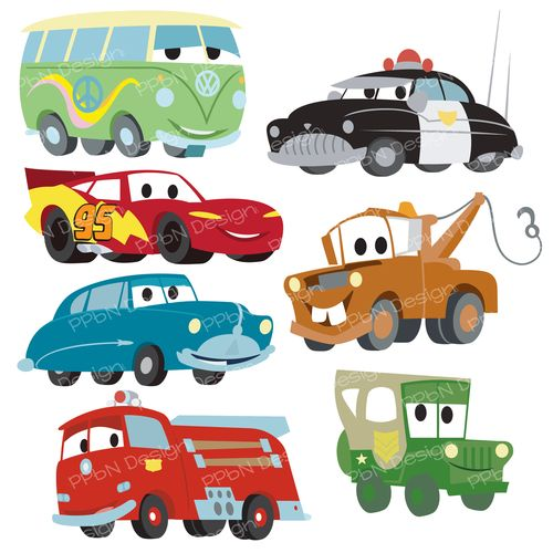 Disney cars free clipart vector black and white download Disney Pixar Cars FREE SVG files and clipart images ... vector black and white download
