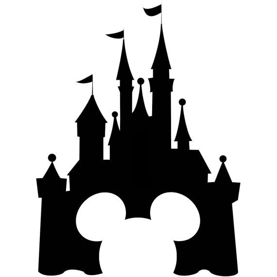 Disney castle silhouette clipart free stock Free Disney Castle Cliparts, Download Free Clip Art, Free Clip Art ... free stock