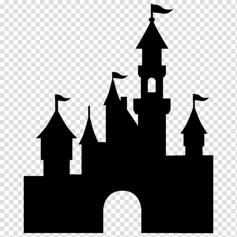 Disney castle silhouette clipart png library Castle , Disneyland Paris Sleeping Beauty Castle Mickey Mouse ... png library
