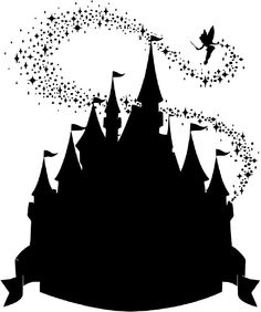 Disney castle silhouette clipart clip free stock Free Disney Castle Cliparts, Download Free Clip Art, Free Clip Art ... clip free stock