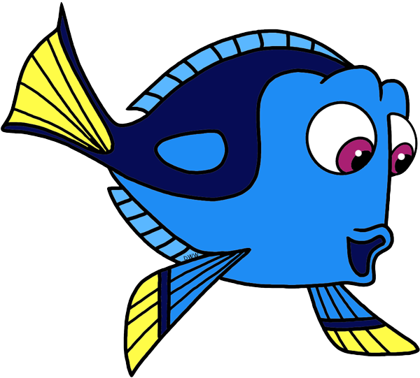 Finding dory clipart free image library library Cartoon Of Fish Clipart | Free download best Cartoon Of Fish Clipart ... image library library