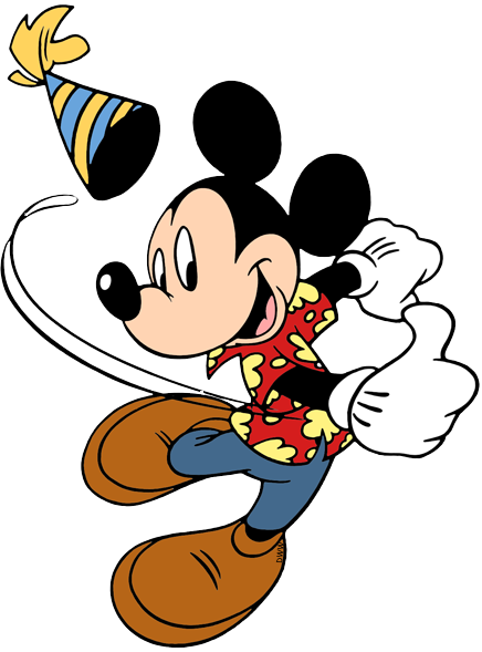 Disney character birthday clipart picture royalty free library Disney Birthdays and Parties Clip Art   Disney Clip Art Galore picture royalty free library
