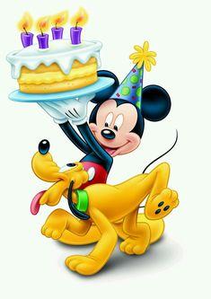 Disney character birthday clipart graphic black and white stock 69 Best HAPPY BIRTHDAY DISNEY images in 2019   Birthday, Birthday ... graphic black and white stock