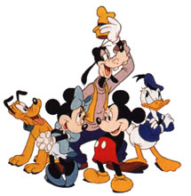 Disney character clip art png free Disney Characters Clipart - Clipart Kid png free
