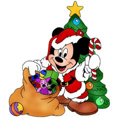 Disney character clipart clipart royalty free library Disney Group Images - Disney And Cartoon Christmas Clip Art Images ... clipart royalty free library