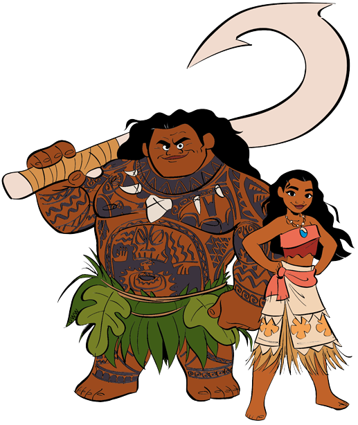 Disney character clipart free image royalty free stock Moana Clip Art | Disney Clip Art Galore image royalty free stock