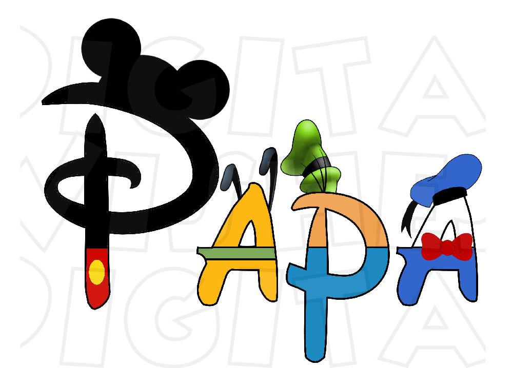 Disney character digital font clipart png library download Disney character text digital clipart - ClipartFest png library download