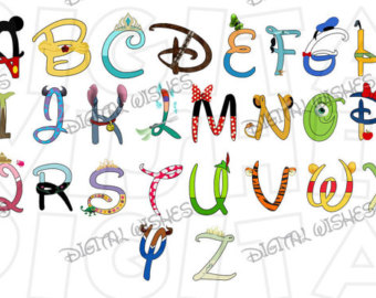 Disney character digital font clipart clip stock Disney character digital font clipart - ClipartFox clip stock