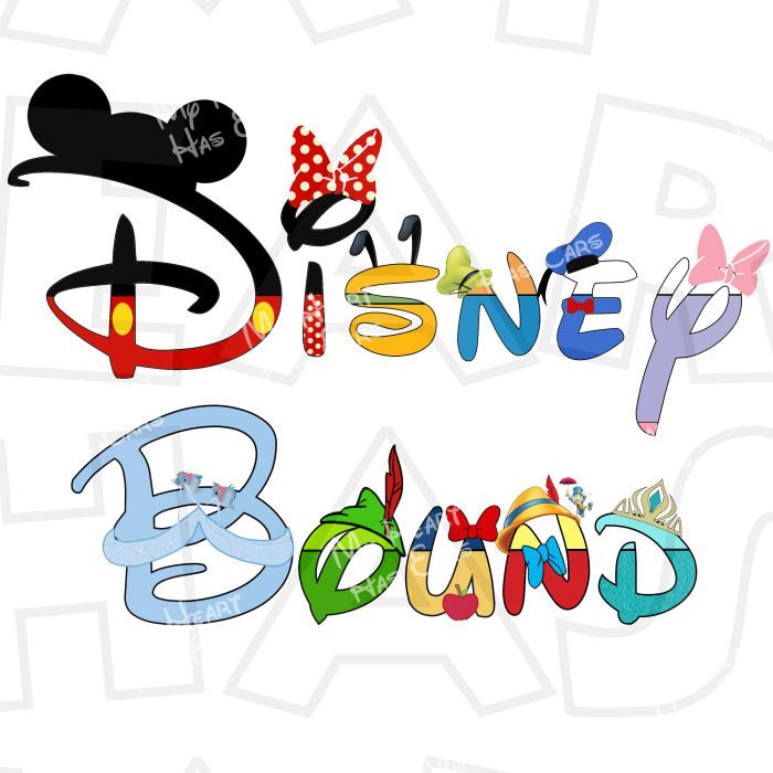 Disney character digital font clipart freeuse 17 Best images about Disney printable iron ons clip art on ... freeuse