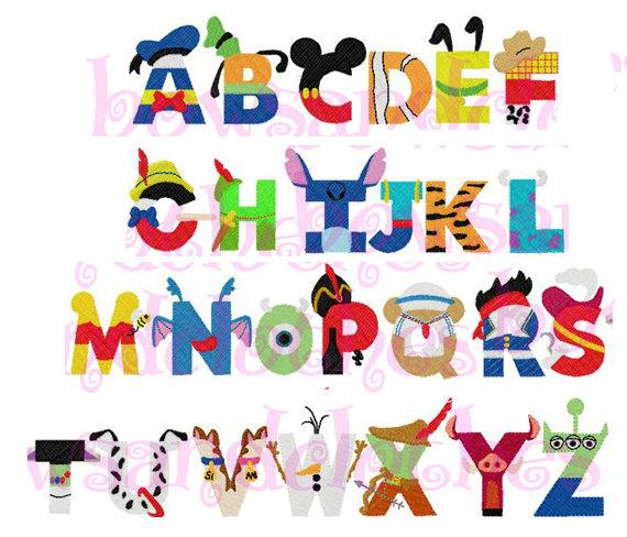 Disney character font clipart clip art royalty free library Disney character font clipart - ClipartFest clip art royalty free library