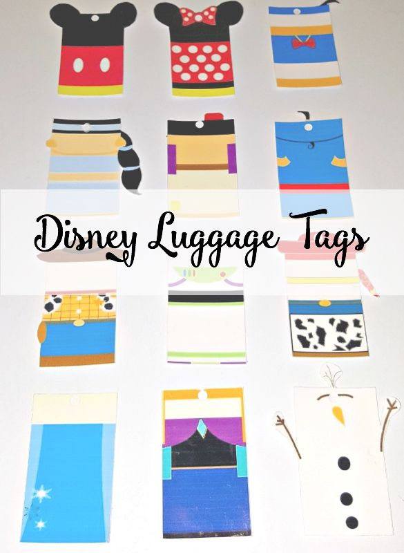 Disney character luggage tags clipart jpg library download 17 Best ideas about Disney Luggage on Pinterest | Kate spade ... jpg library download